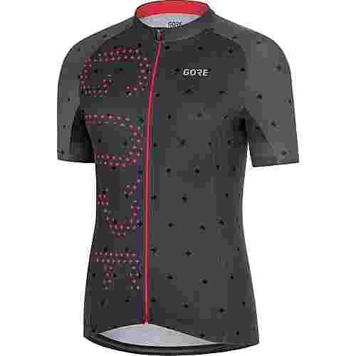 GORE® WEAR C3 Brand Trikot GORE-TEX® Fahrradtrikot Damen terra grey/hibiscus pink