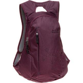 Jack Wolfskin Rucksack Ancona Daypack Damen burgundy