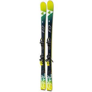 Fischer Progressor F17 + RS10 GW All-Mountain Ski gelb