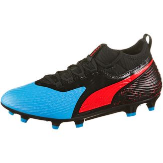 PUMA PUMA ONE 19.3 Syn FG/AG Fußballschuhe bleu azur-red blast-puma black