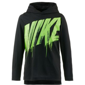 Nike Sweatshirt Kinder black-lime-blast