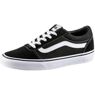 Vans Ward Sneaker Damen black-white