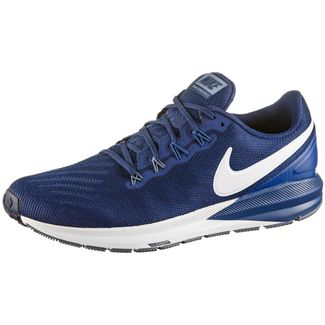 Nike Air Zoom Structure 22 Laufschuhe Herren blue void-vast grey-gym blue-diffused blue