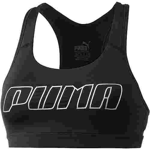 PUMA 4Keeps Sport-BH Damen puma black-silver puma