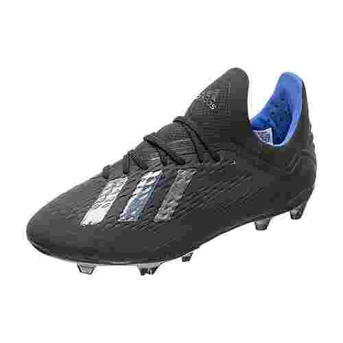 adidas X 18.1 Fußballschuhe schwarz / blau