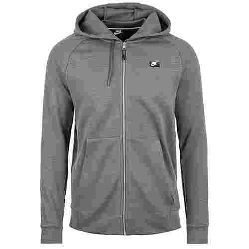 Nike Optic Fleece Sweatjacke Herren grau