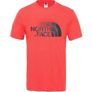 The North Face Easy Printshirt Herren salsa red