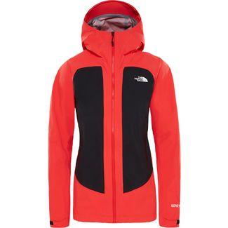 The North Face IMPENDOR CKNIT GORE-TEX® Hardshelljacke Damen juicy red-tnf black