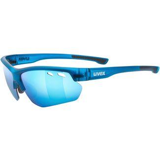 Uvex Sportstyle 115 Sportbrille blue mat-mirror blue