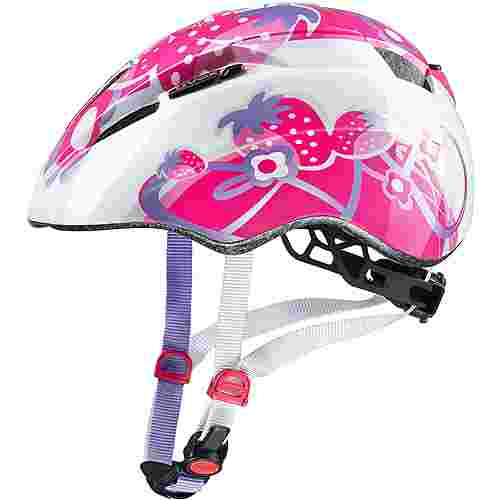 Uvex Kid 2 Fahrradhelm Kinder pink strawberry