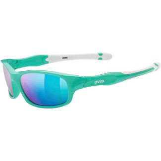 Uvex Sportstyle 507 Sportbrille Kinder green white-mirror green