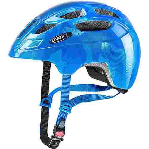Uvex Finale Junior Fahrradhelm Kinder blue