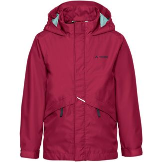 VAUDE Escape Light Jacket Wanderjacke Kinder crimson red