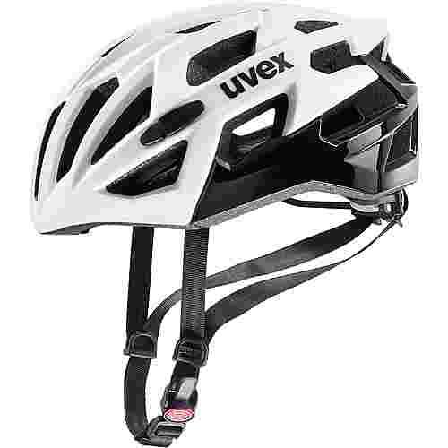 Uvex Race 7 Fahrradhelm white black