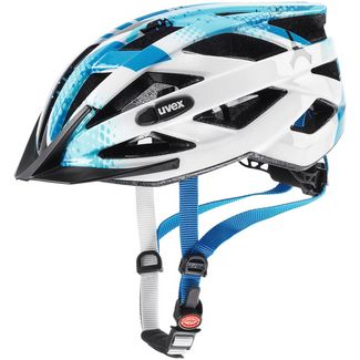 Uvex Air Wing Fahrradhelm Kinder blue white