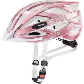 Uvex Air Wing Fahrradhelm Kinder rose white