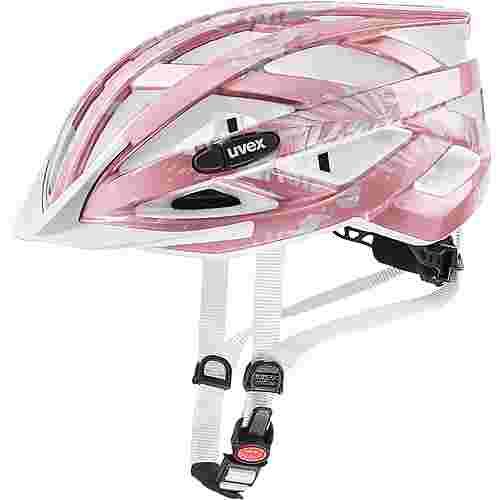 uvex air wing fahrradhelm kinder rose white im online shop von sportscheck kaufen. Black Bedroom Furniture Sets. Home Design Ideas