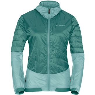 VAUDE Wo Moab UL Hybrid Jacket Fahrradjacke Damen nickel green