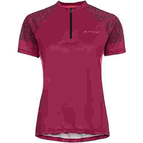 VAUDE Wo Ligure Shirt Fahrradtrikot Damen crimson red