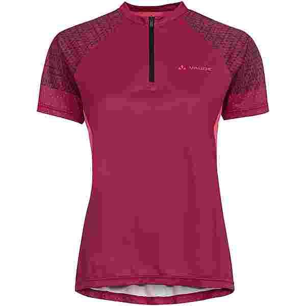 VAUDE Wo Ligure Shirt Trikot Damen crimson red