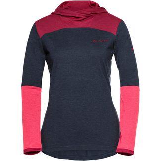 VAUDE Wo Tremalzo LS Shirt Funktionsshirt Damen eclipse pink
