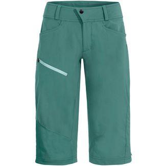 VAUDE Wo Moab Shorts III Fahrradshorts Damen nickel green