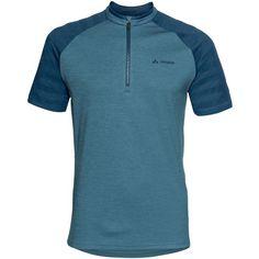 VAUDE Me Tamaro Shirt III Fahrradtrikot Herren blue gray