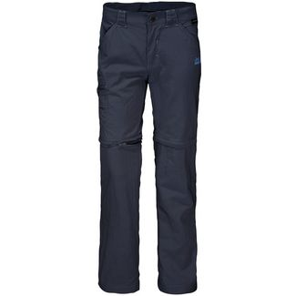 Jack Wolfskin Safari Zipphose Kinder night blue
