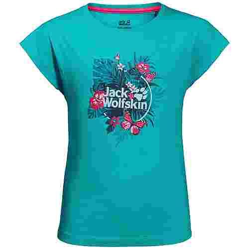Jack Wolfskin Tropical T-Shirt Kinder aquamarine