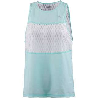 PUMA Cosmic Funktionstank Damen fair aqua-puma white