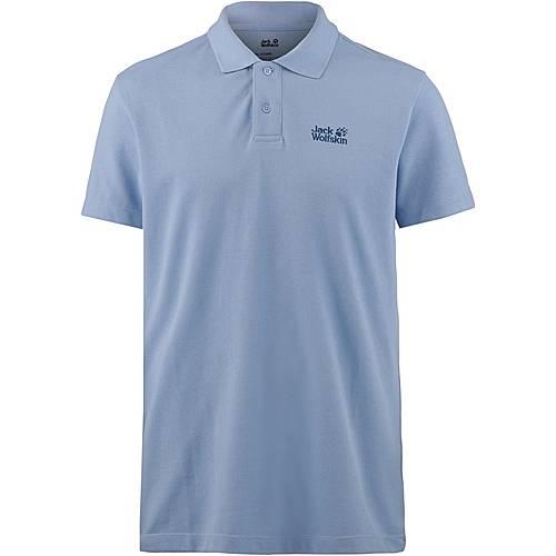 Jack Wolfskin PIQUE Poloshirt Herren shirt blue im Online Shop von SportScheck kaufen
