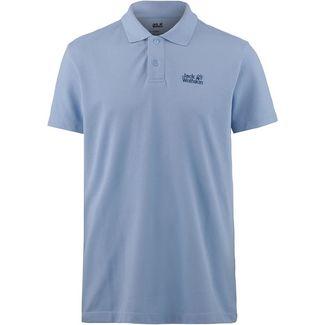 Jack Wolfskin PIQUE Poloshirt Herren shirt blue