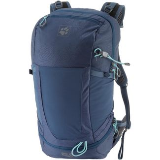 Jack Wolfskin Kingston 22 Wanderrucksack leaf dark sky