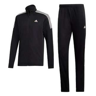 adidas Team Sport Trainingsanzug Trainingsanzug Herren Black / Black / White