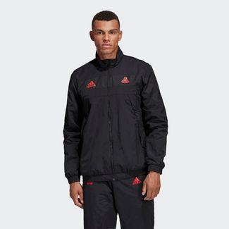 adidas TAN Training Downtime Jacke Outdoorjacke Herren Schwarz