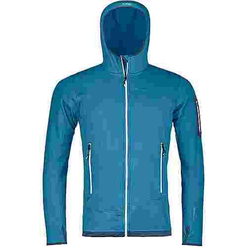 ORTOVOX FLEECE LIGHT Fleecejacke Herren blue sea
