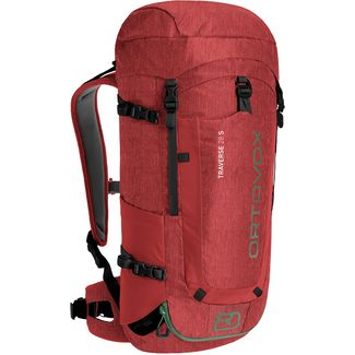 ORTOVOX Traverse 28 S Wanderrucksack Damen dark blood blend