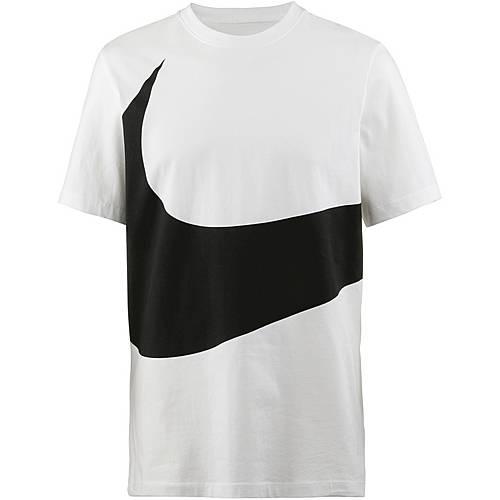 wholesale dealer 80992 ae17d Nike NSW Swoosh 1 T-Shirt Herren white-black im Online Shop von SportScheck  kaufen