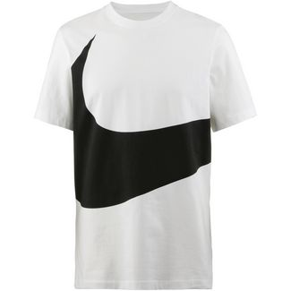 Nike NSW Swoosh 1 T-Shirt Herren white-black