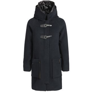 Khujo MADDI WITH DETACHABLE INNER HOOD Wollmantel Damen navy