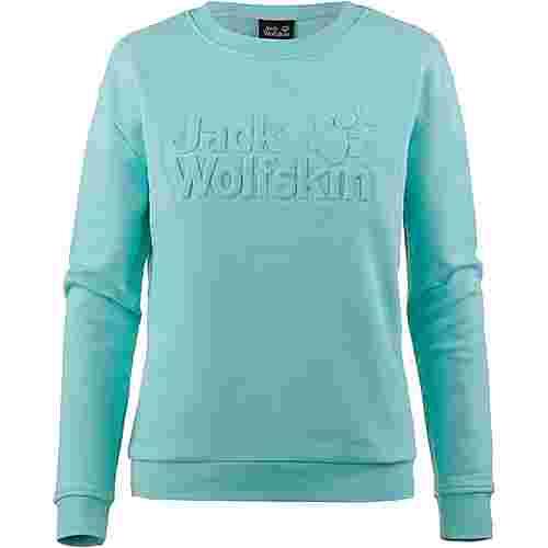 Jack Wolfskin LOGO SWEATSHIRT Sweatshirt Damen aqua