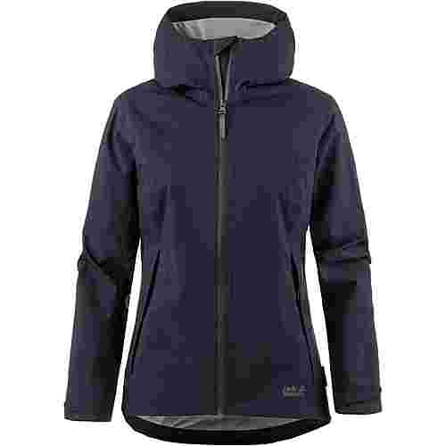 Jack Wolfskin JWP SHELL Hardshelljacke Damen night blue