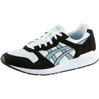 ASICS Lyte-Trainer Sneaker Herren black-white-light steel