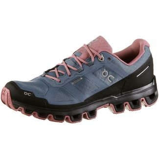 ON CLOUDVENTURE WATERPROOF Laufschuhe Damen metal-dustrose