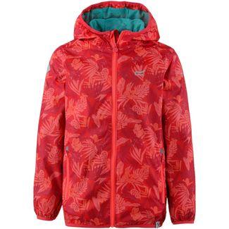 Regatta Printed Lever Regenjacke Kinder Coral Blush
