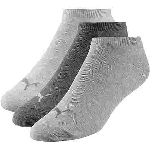 PUMA INVISIBLE 3PACK Socken Pack anthraci-lmel grey-m mel grey