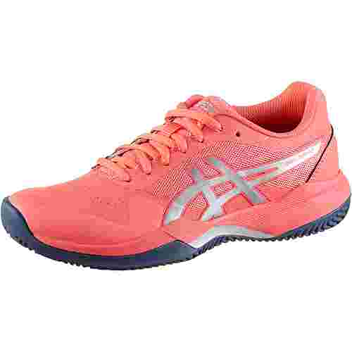 ASICS GEL-GAME 7 CLAY Tennisschuhe Damen papaya-silver
