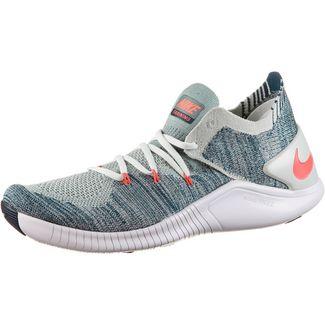 Nike Free TR Flyknit 3 Fitnessschuhe Damen barely grey-ember glow blue-white