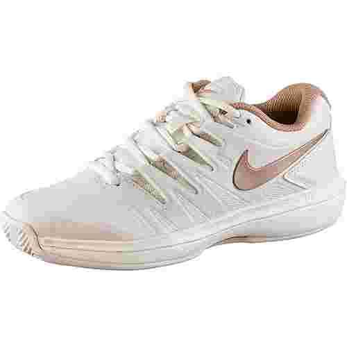 Nike W AIR ZOOM PRESTIGE CLY Tennisschuhe Damen phantom-mtlc red bronze