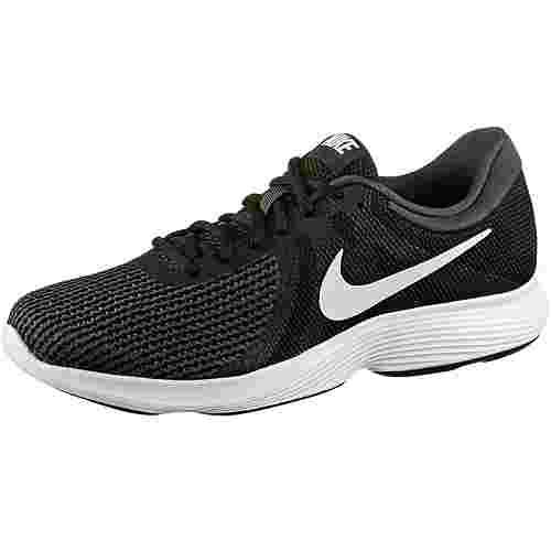 Nike REVOLUTION 4 EU Laufschuhe Herren black-white-anthracite